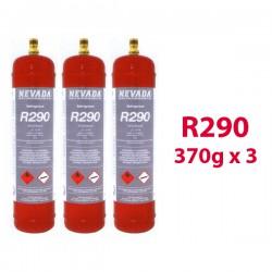 GAS R290  370g x3