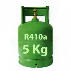 GAS R410a BOMBOLA 5 Kg RICARICABILE