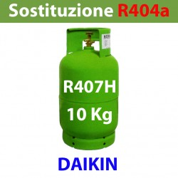GAS R407H BOMBOLA 10 Kg RICARICABILE