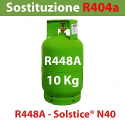 GAS R448A BOMBOLA 10 Kg RICARICABILE