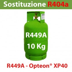 GAS R449A BOMBOLA 10 Kg RICARICABILE