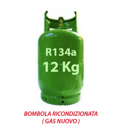 GAS R134a BOMBOLA 12 Kg RICARICABILE
