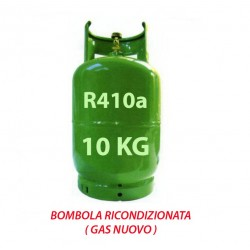 GAS R410a BOMBOLA 10 Kg RICARICABILE